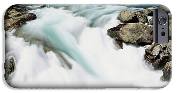 Norway iPhone Cases - Namsen River Norway iPhone Case by Panoramic Images