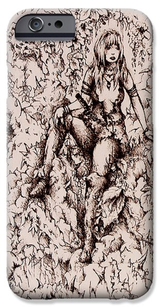 Nan Dungortheb Detail iPhone Case by Rachel Christine Nowicki