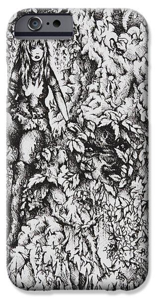 Nan Dungortheb iPhone Case by Rachel Christine Nowicki