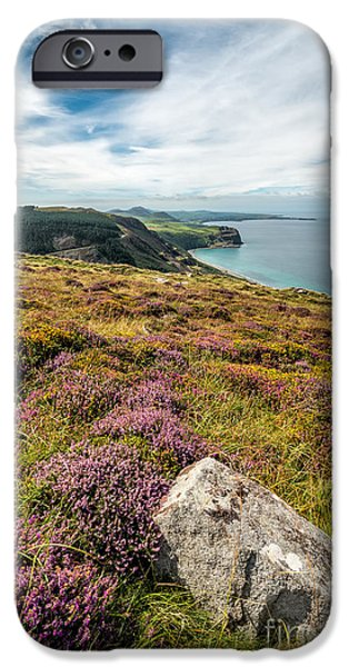 Walkway Digital Art iPhone Cases - Nant Gwrtheyrn iPhone Case by Adrian Evans