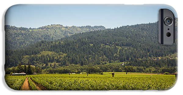 Vineyard Photograph iPhone Cases - Napa iPhone Case by Clay Townsend