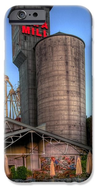 Bill Gallagher iPhone Cases - Napa Mill II iPhone Case by Bill Gallagher