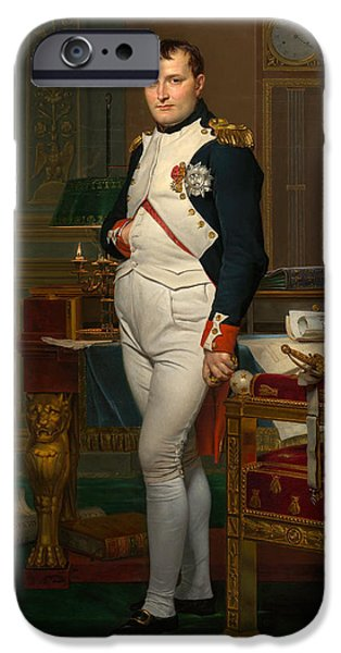 Store iPhone Cases - Emperor Napoleon in His Study at the Tuileries iPhone Case by War Is Hell Store