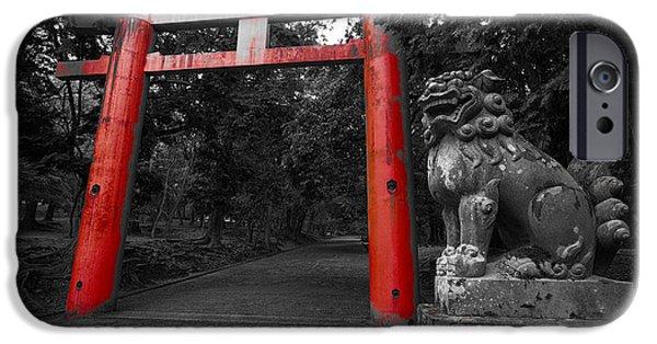 Nara iPhone Cases - Nara Park Japan iPhone Case by Daniel Hagerman