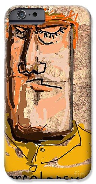 Disorder iPhone Cases - Narcolepsy iPhone Case by Joe Jake Pratt