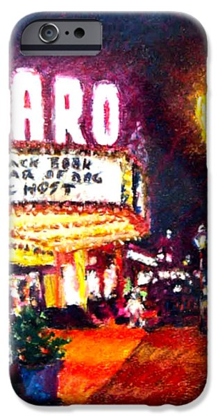 White House Pastels iPhone Cases - Naro Nite iPhone Case by GW Hudgins