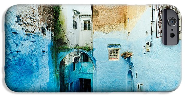 Alley iPhone Cases - Narrow Streets Of The Medina Are All iPhone Case by Panoramic Images