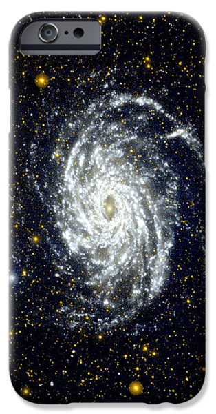 NASA Big Brother to the Milky Way iPhone Case by Rose Santuci-Sofranko