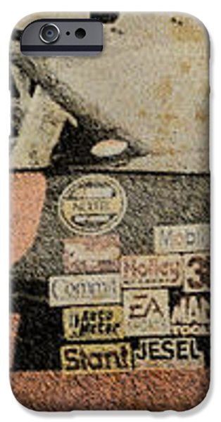 Nascar 2005 iPhone Case by Pablo Franchi