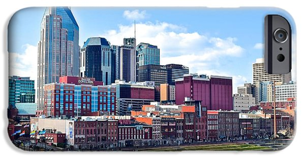 Inner World iPhone Cases - Nashville Blues iPhone Case by Frozen in Time Fine Art Photography