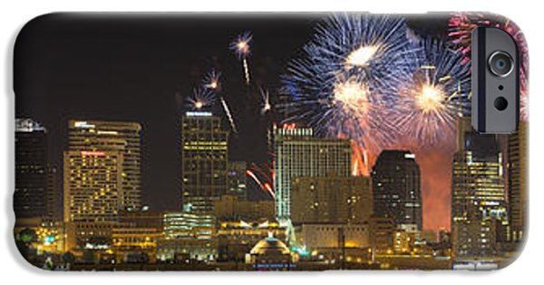 Fourth Of July iPhone Cases - Nashville Fourth of July 2014 iPhone Case by Dieter Spears