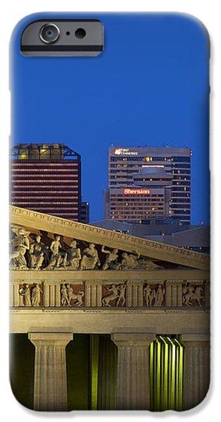 Nashville Parthenon iPhone Case by Brian Jannsen