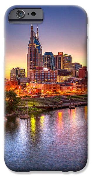 Nashville Skyline iPhone Case by Brett Engle