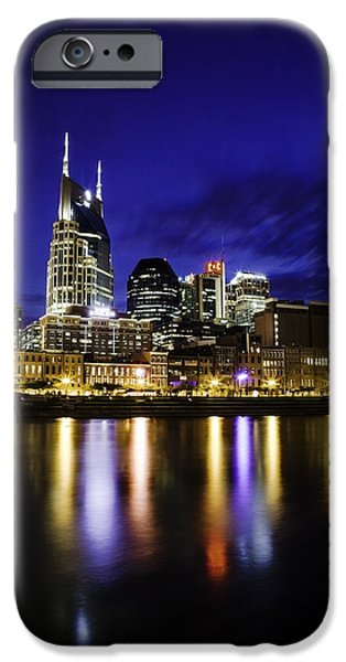 Nashville Skyline iPhone Case by Lucas Foley