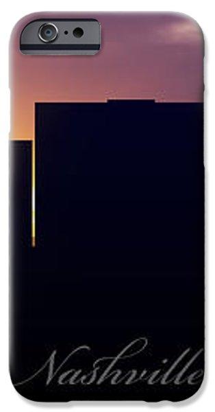 Nashville Sunset iPhone Case by Aged Pixel