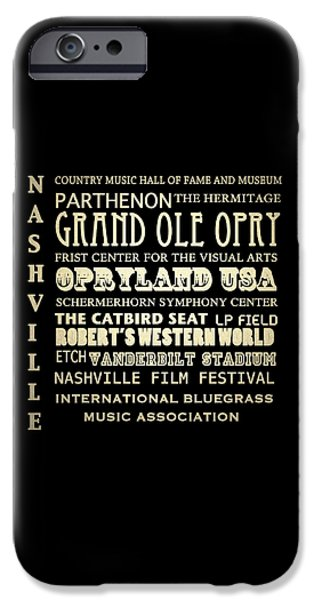 Frist Center iPhone Cases - Nashville Tennessee iPhone Case by Patricia Lintner
