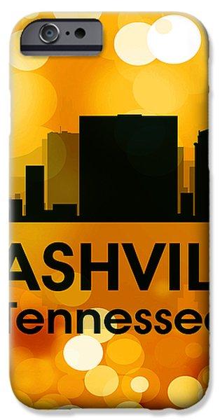 Nashville TN 3 iPhone Case by Angelina Vick