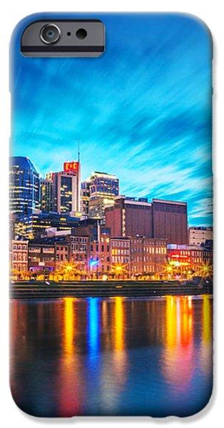 Nashville Twilight iPhone Case by Lucas Foley