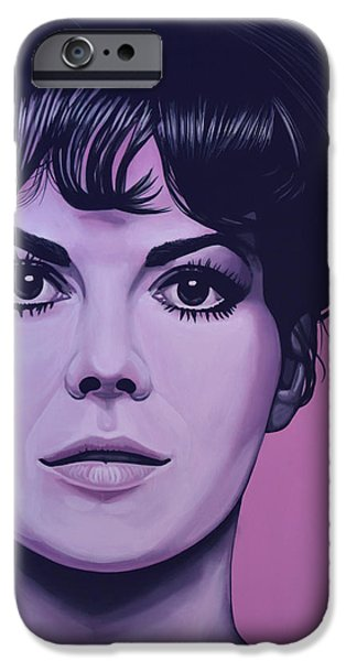 Miracle iPhone Cases - Natalie Wood iPhone Case by Paul  Meijering