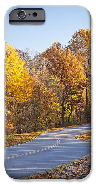 Natchez Trace iPhone Case by Brian Jannsen