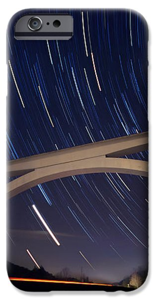 Natchez Trace Bridge at Night iPhone Case by Malcolm MacGregor