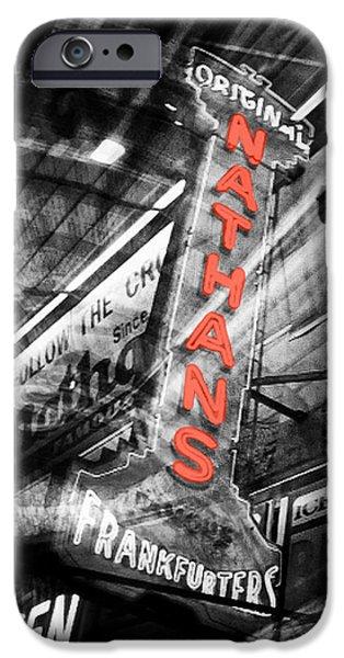 Natasha Marco iPhone Cases - Nathans Famous iPhone Case by Natasha Marco