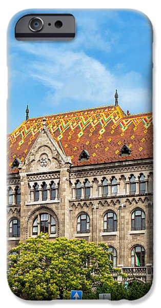 National Archives of Hungary iPhone Case by Artur Bogacki