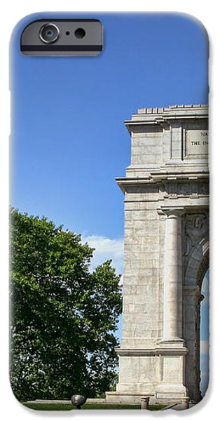 National Memorial Arch at Valley Forge iPhone Case by Olivier Le Queinec