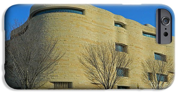 Smithsonian Museum iPhone Cases - National Museum of the American Indian iPhone Case by Emmy Marie Vickers