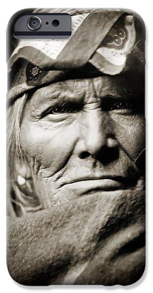 Native American Zuni -  Si Wa Wata Wa  iPhone Case by The  Vault - Jennifer Rondinelli Reilly
