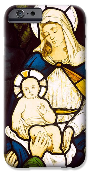 Stable iPhone Cases - Nativity iPhone Case by Robert Anning Bell