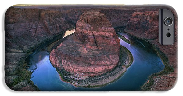 Colorado River iPhone Cases - Natural Roundabout iPhone Case by Marco Crupi