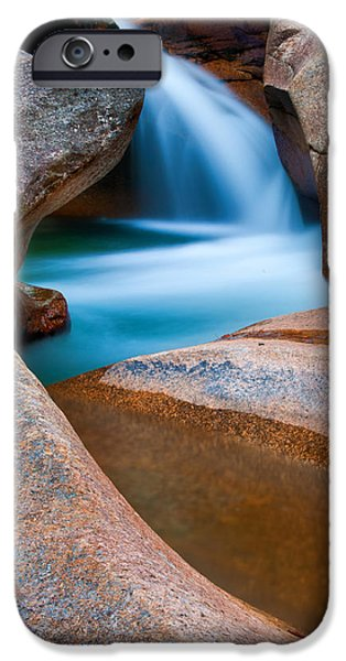 Interior Scene iPhone Cases - Natural Sculpture - Basin Formations iPhone Case by Thomas Schoeller