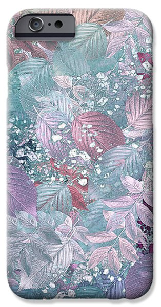 Naturaleaves - s1002b iPhone Case by Variance Collections