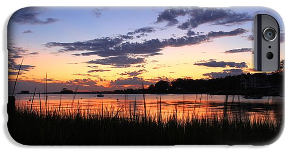 Reflective iPhone Cases - Nature In Connecticut iPhone Case by Mark Ashkenazi