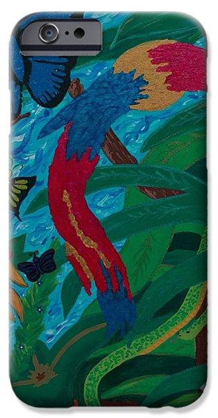 Serpent iPhone Cases - Gods Wonders iPhone Case by Rose Gonzalez