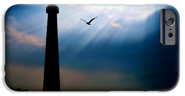 Jersey Shore iPhone Cases - Nature Shines Brighter iPhone Case by Mark Miller