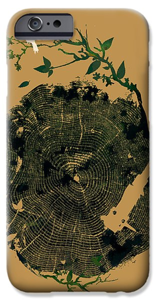 Nature sound iPhone Case by Budi Kwan