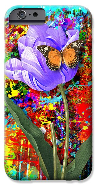 Nature vs Caos iPhone Case by Gary Grayson