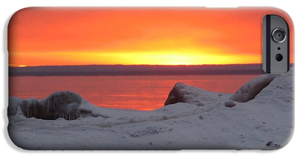 Duluth iPhone Cases - Natures Artwork iPhone Case by Alison Gimpel