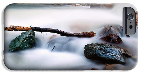 Business iPhone Cases - Natures Balance - White Water Rapids iPhone Case by Steven Milner