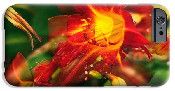 Fury iPhone Cases - Natures Color Fury iPhone Case by John Rizzuto