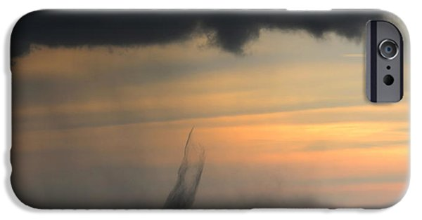 Fury iPhone Cases - Natures Fury iPhone Case by David Lee Thompson