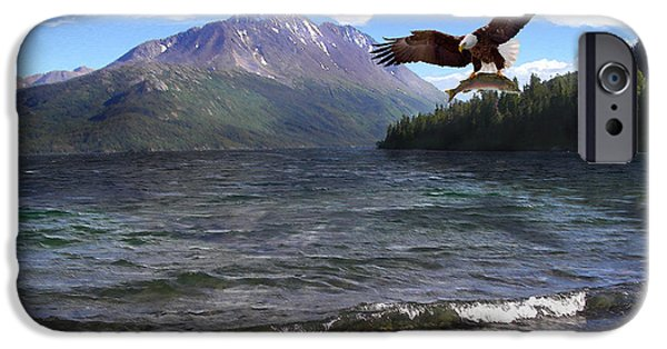 Yukon Territory iPhone Cases - Natures Granduer II iPhone Case by Doug Kreuger