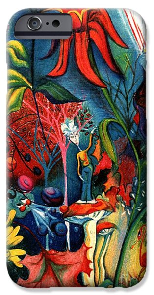 Genevieve Esson iPhone Cases - Natures Overature iPhone Case by Genevieve Esson