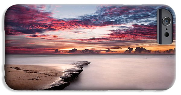 Waterscape iPhone Cases - Natures show iPhone Case by Jorge Maia