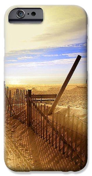 Nauset Beach Early Morning iPhone Case by Dapixara Art