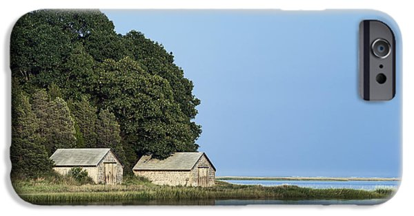 Salt Marsh. New England iPhone Cases - Nauset Marsh iPhone Case by John Greim