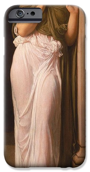 Slaves iPhone Cases - Nausicaa iPhone Case by Frederic Leighton