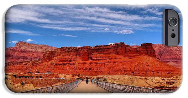 Grand Canyon iPhone Cases - Navajo Bridge iPhone Case by Dan Sproul